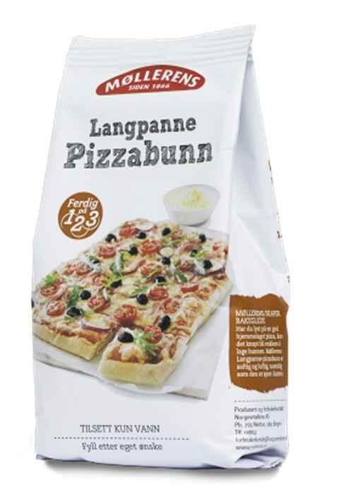 Bilde av Møllerens pizzabunn.