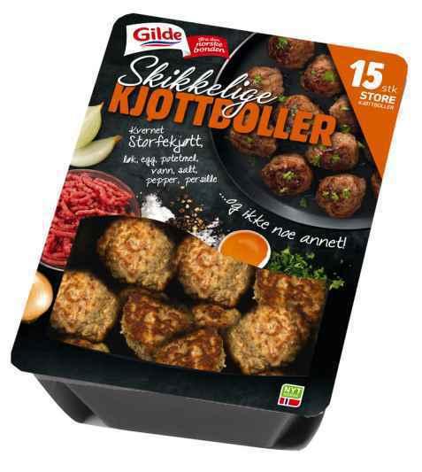 Bilde av Gilde Skikkelige kjøttboller.