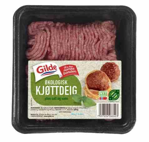 Bilde av Gilde økologisk kjøttdeig.