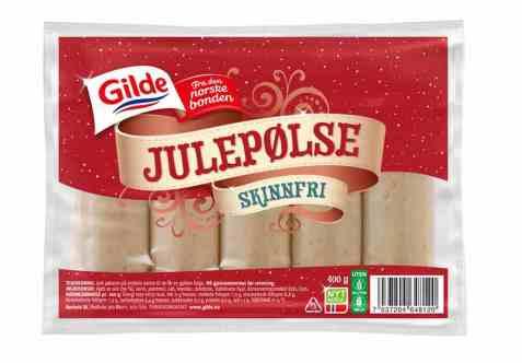 Bilde av Gilde Røkt julepølse uten skinn.