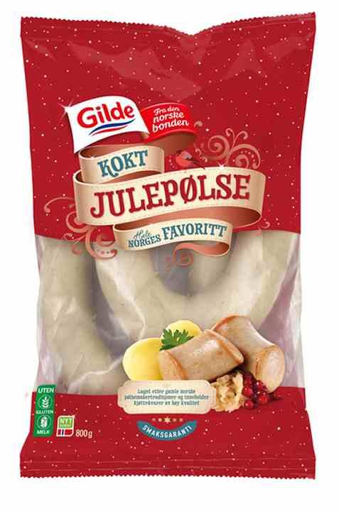 Bilde av Gilde kokt julepølse.