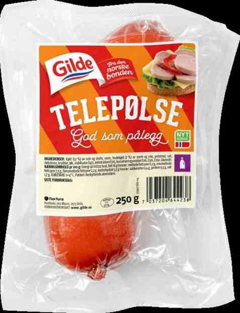 Bilde av Gilde telepølse.