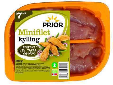 Bilde av Prior kylling minifilet.