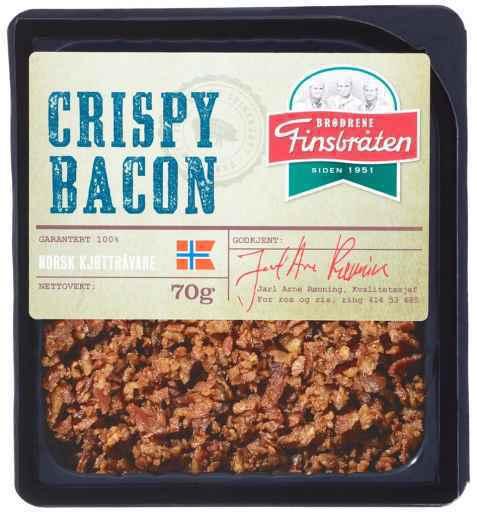 Bilde av Finsbråten crispy bacon.