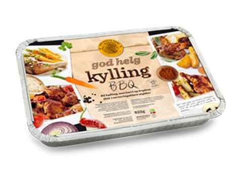 Bilde av Den stolte hane god helg kylling BBQ.