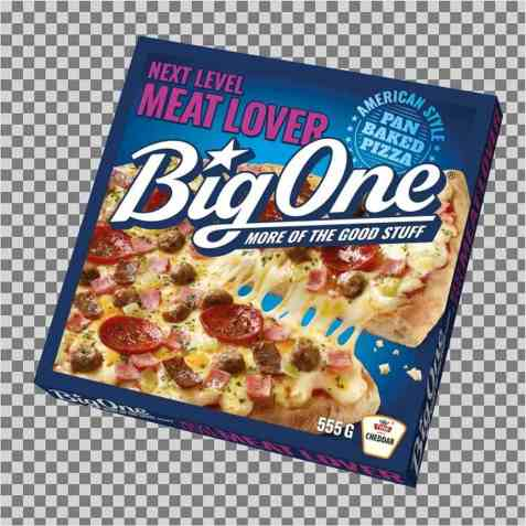 Bilde av Big One Meat Lover.