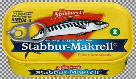 Bilde av Stabbur makrell i tomatsaus.