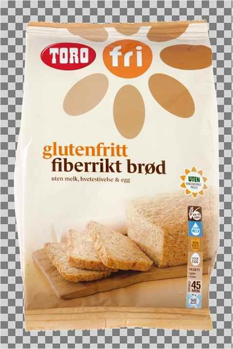 Bilde av Toro glutenfritt fiberrikt brød.