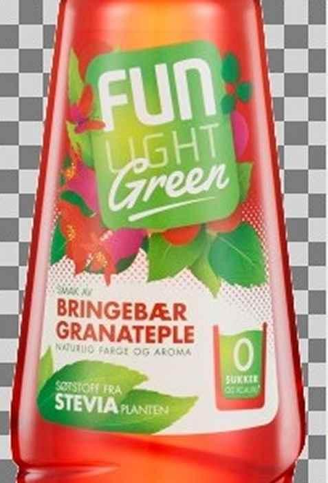 Bilde av Fun Light green Bringebær granateple.