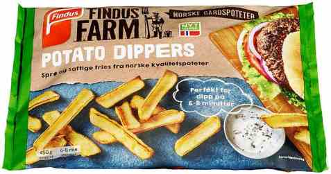 Bilde av Findus Farm sprø potetstaver.