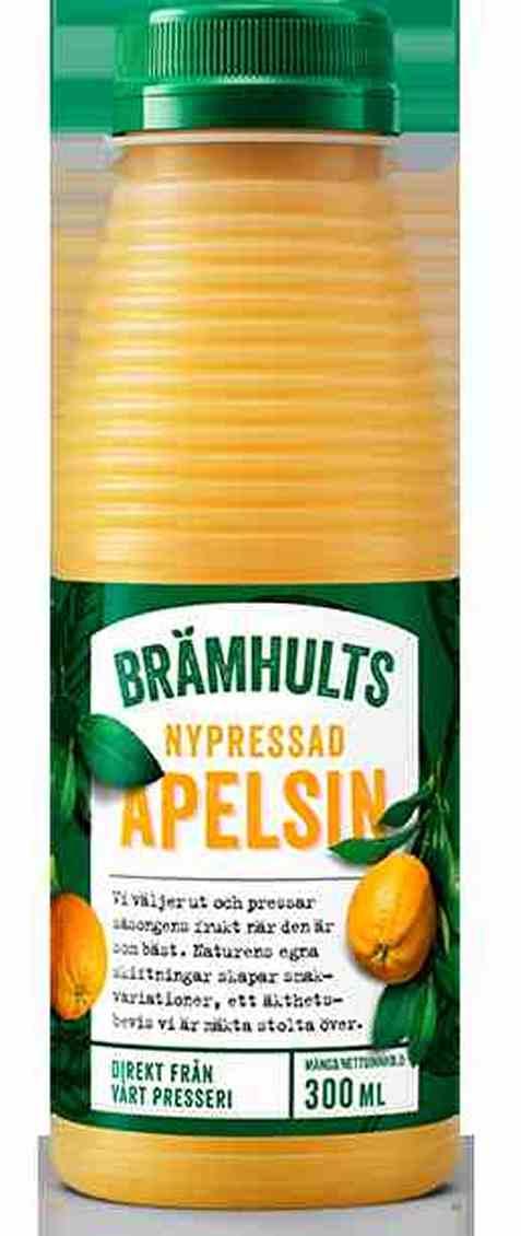 Bilde av Bramhults Nypressede appelsiner.