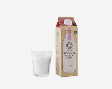 Bilde av Rørosmeieriet skummet mjølk.