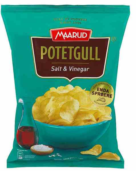 Bilde av Maarud Potetgull® Salt og vinegar.