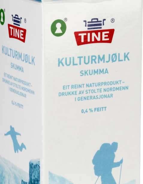 Bilde av Tine Melk Skummet Kultur.