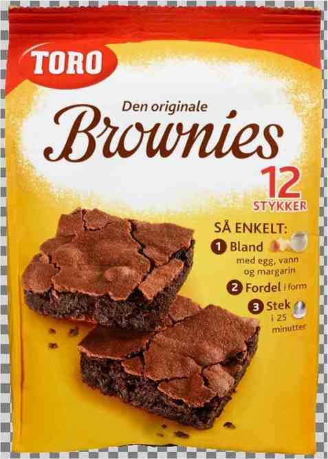 Toro brownies laktose