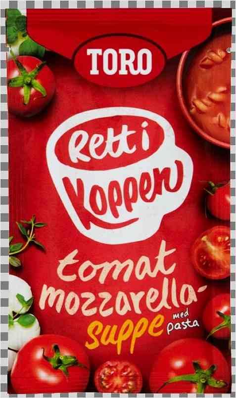 Bilde av Toro Rett i Koppen Tomatsuppe med mozzarella og urter.