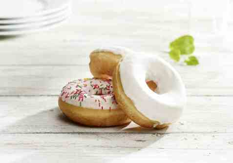 Bilde av Aunt Mabel vanilla donut.