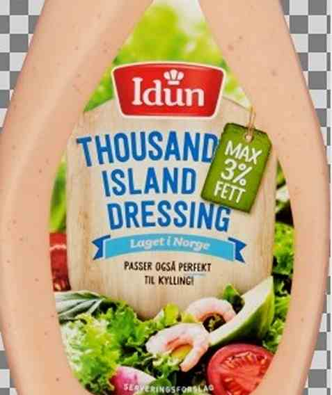 Bilde av Idun thousand island dressing maks 3% fett.