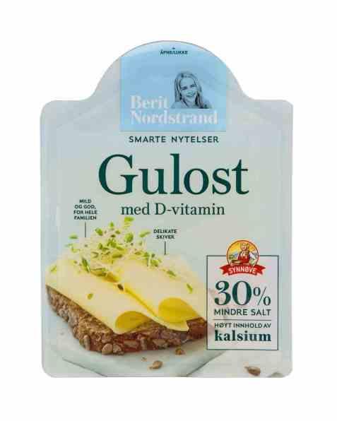 Bilde av Synnøve Gulost med D-vitamin.