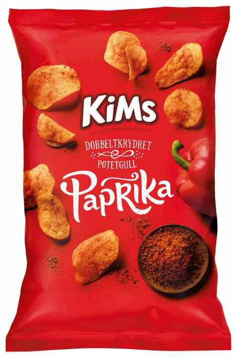 Bilde av Kims potetchips paprika.