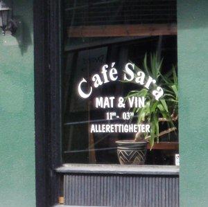 Besøk Cafe Sara
