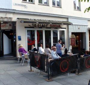 Besøk To Glass Vinbar i Bergen